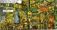 The Long Tomorrow - drawn by Moebius