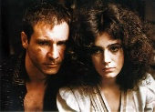 Harrison Ford and Sean Young in Blade Runner