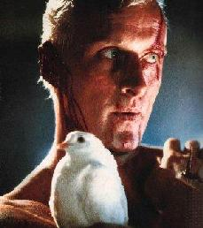 Blade Runner - Roy Batty with dove