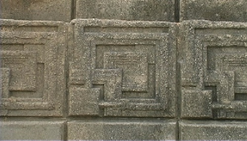 Ennis-Brown House block pattern.(c) Gnomus, Nov 2001