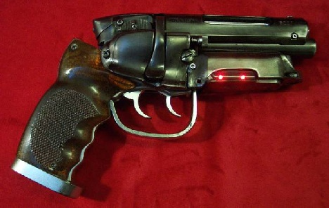 C&S replica blaster designed by Richard Coyle